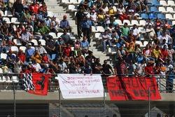 Banners for Michael Schumacher