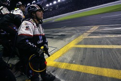 GM Goodwrench Chevy crew members ready for a pitstop
