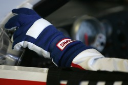 Hand of Terry Labonte