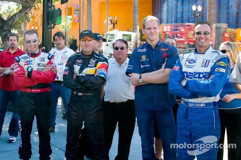 Joey Hand, Andy Pilgrim, Jorg Bergmeister et Guy Cosmo