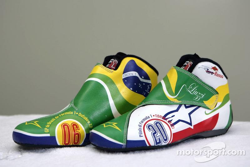 Chaussures de course au design nouveau de Vitantonio Liuzzi