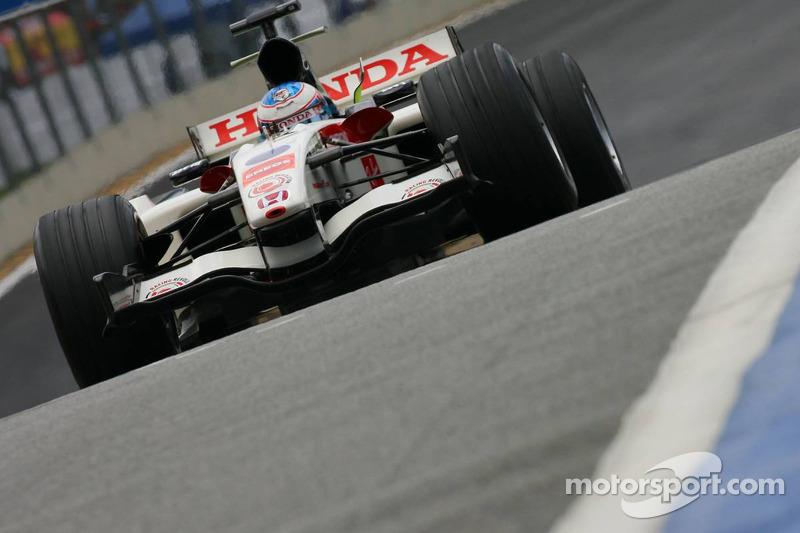2006 - Honda RA106: sexto lugar no Mundial de Pilotos, com 56 pontos