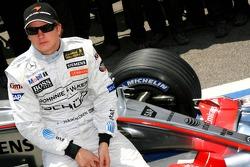 McLaren Mercedes team photo: Kimi Raikkonen
