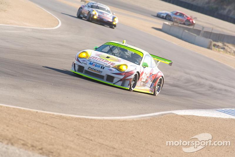 Porsche 911 GT3 RSR n°31 du Petersen / White Lightning : Jorg Bergmeister, Tim Bergmeister, Patrick Long