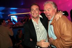 Robert Doornbos with his father Robert