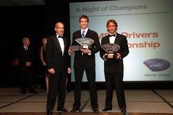 GT1 champions: Oliver Gavin and Olivier Beretta