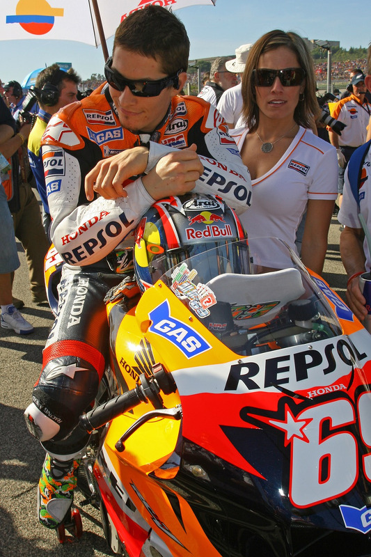 Nicky Hayden and Jenny Hayden