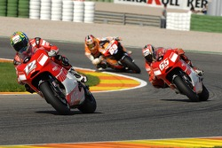 Troy Bayliss y Loris Capirossi