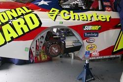 Work on Greg Biffle's car