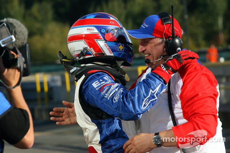 Tomas Enge et Antonin Charouz, détenteur de l'équipe tchèque d'A1