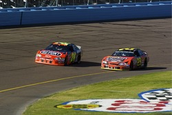 Jeff Gordon and Kevin Harvick battle