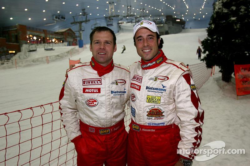 Visit of Ski Dubai: Tim Sugden and Iradj Alexander
