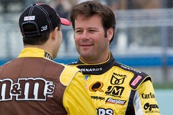 David Gilliland and Robby Gordon