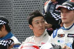 F3 drivers photoshoot: Kazuki Nakajima, Maro Engel