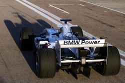 Alex Zanardi teste la BMW Sauber F1.06