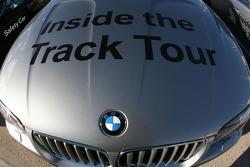 BMW track tour car