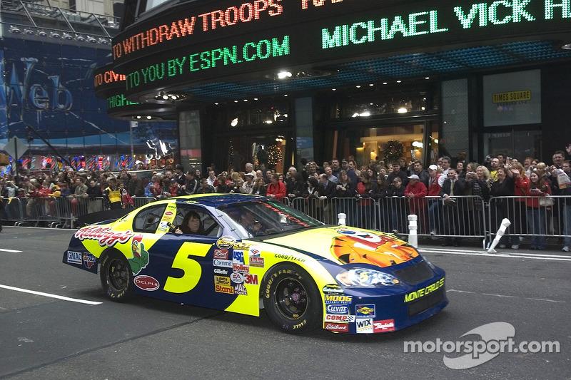 2006: Kyle Busch in den Straßen von New York