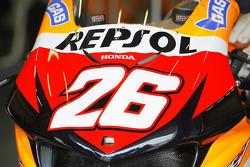 Деталь мотоцикла Дани Педроса