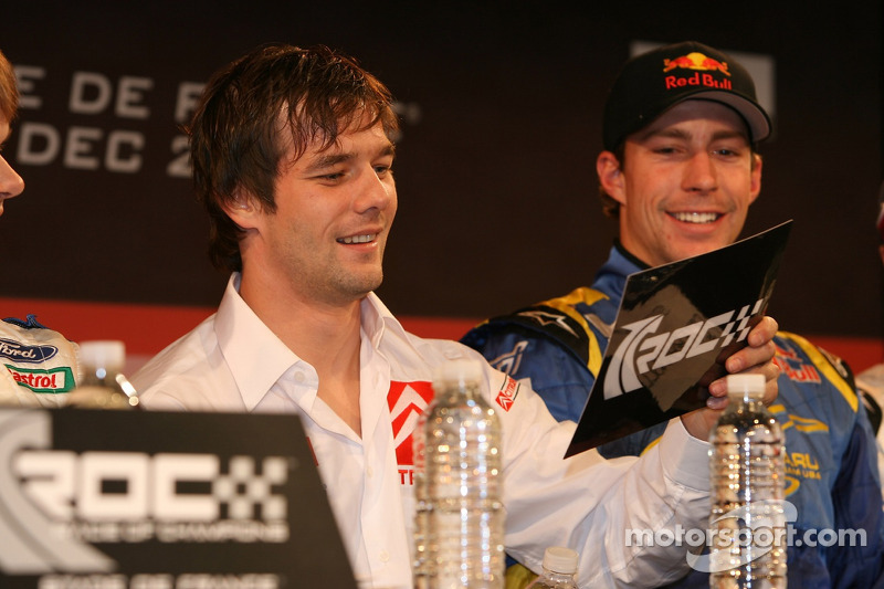 Sébastien Loeb and Travis Pastrana