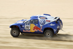 Volkswagen Motorsport test in Dubai: Carlos Sainz and Michel Perin