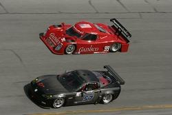 #57 Stevenson Motorsports Corvette: Dominic Cicero II, Marc Bunting, James Gue, John Stevenson, #99 Gainsco/ Bob Stallings Racing Pontiac Riley: Alex Gurney, Jon Fogarty, Bob Stallings, Jimmy Vasser