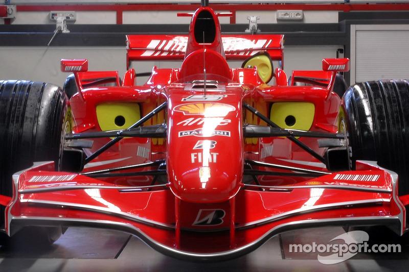 El Ferrari F2007 de 2007