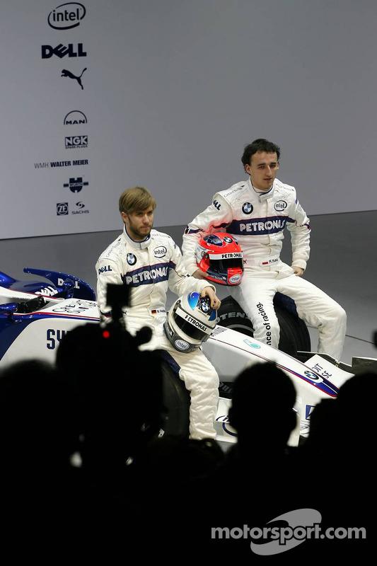 Nick Heidfeld et Robert Kubica