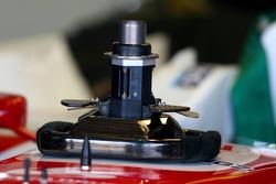 Super Aguri F1 Team steering wheel