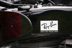 Detail of the Honda RA107