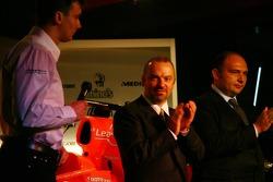 James Key; Mike Gascoyne; Colin Kolles, Spyker-Ferrari