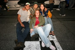 Happy fans at Daytona