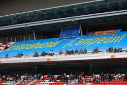 Botschaften für Fernando Alonso