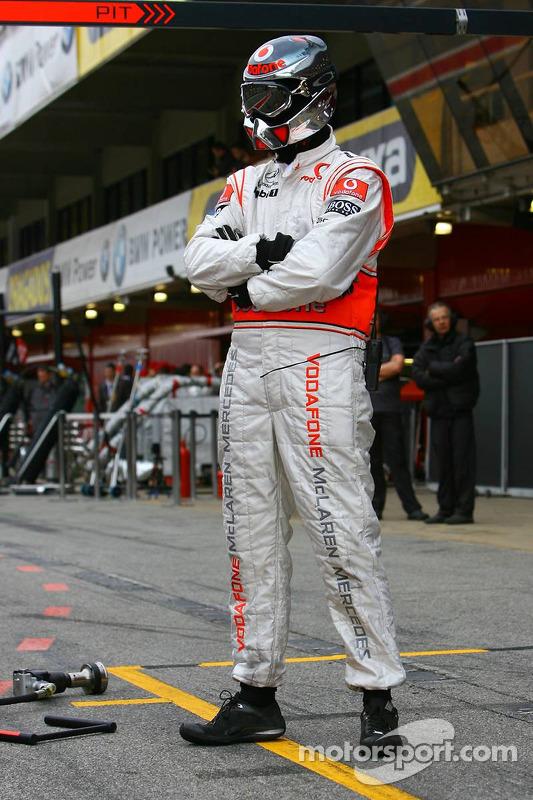 Член команди McLaren Mercedes