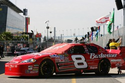 The Bud Chevy ready for the race