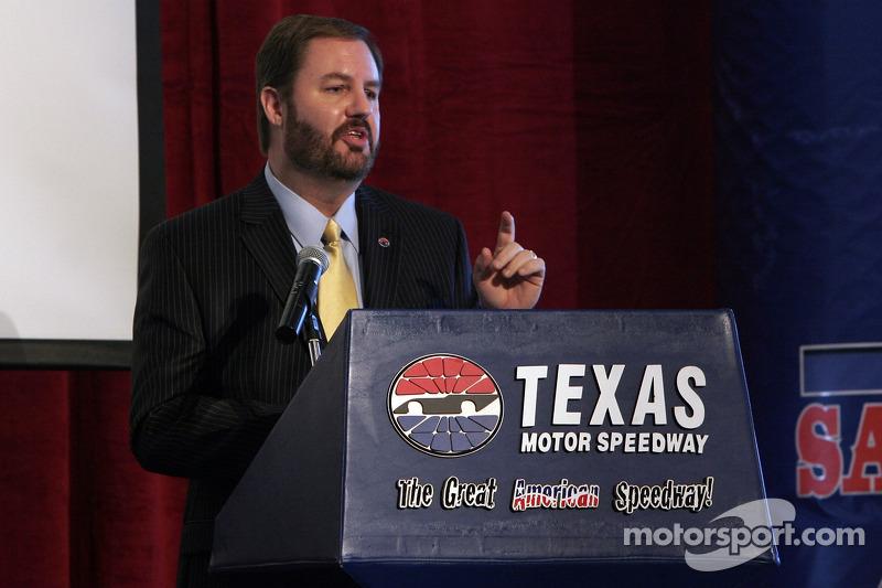 Eddie Gossage fait le point sur toutes les courses disputés sur le Texas Motor Speedway