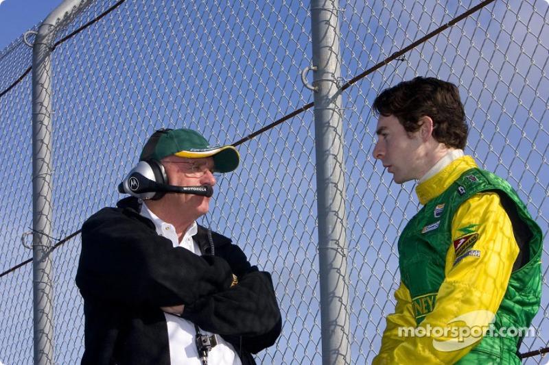Derrick Walker et Simon Pagenaud