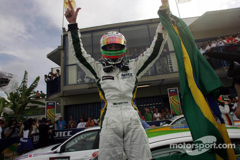 Winner, Augusto Farfus, BMW Team Germany, BMW 320si WTCC