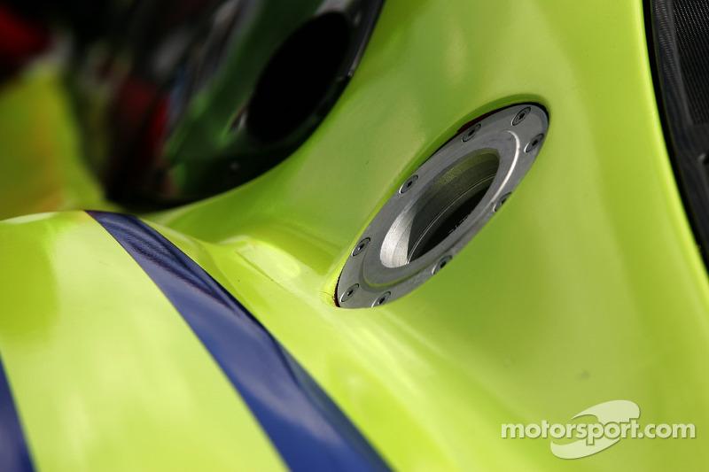 Détail de la #61 Risi Competizione Ferrari 430 GT