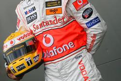 Lewis Hamilton, McLaren Mercedes, helmet
