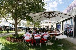 Toyota F1 Team, Area