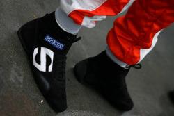 Jarno Trulli's shoes