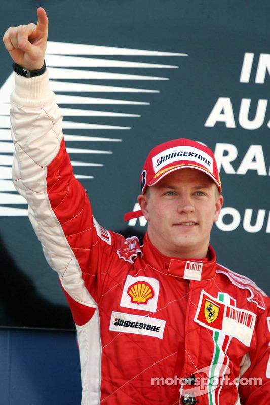 Grand Prix von Australien 2007 in Melbourne: Sieger