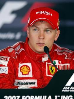 Conférence de presse : le vainqueur Kimi Raikkonen