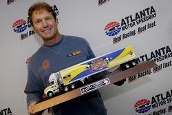 Rick Crawford a donné un momento pour son 250ème départ dans la série Craftsman Truck