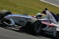 Oliver Jarvis , Driver of A1Team Great Britain
