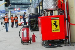 Scuderia Ecosse refuel equipment