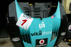 Vitaphone Racing Team pit area