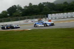 #36 Jetalliance Racing Aston Martin DBR9: Lukas Lichtner-Hoyer, Robert Lechner