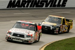 Mike Skinner leads Todd Bodine