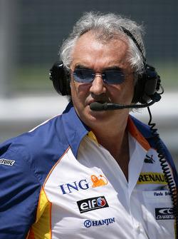 Флавио Бриаторе, руководитель команды Renault F1 Team